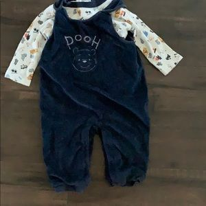 Pooh Overalls